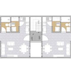 منازل صغيرة تنفيذ AAVE Diseño y Construcción, كلاسيكي