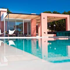 Haciendas de estilo  por Pep Torres Arquitecte,