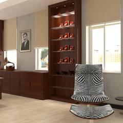 KALYA İÇ MİMARLIK – Denizli'de Bir Ofis Projesi:  tarz Ofis Alanları,