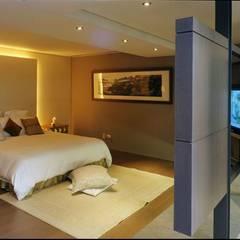 Dormitorios pequeños de estilo  por 鼎爵室內裝修設計工程有限公司 , Asiático