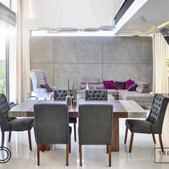 Diseño de Espacios Comerciales y Residenciales : Hoteles de estilo  por TRES A UNO ESTUDIO SC, Moderno