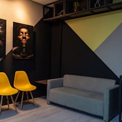 Study/office by Leaf Arquitetura, Industrial Iron/Steel