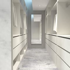 Modern dressing room by KALYA İÇ MİMARLIK \ KALYA INTERIOR DESIGN Modern Wood Wood effect