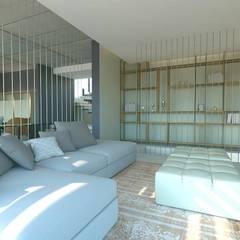 KALYA İÇ MİMARLIK – Güney Afrika'da Bir Villa Projesi:  tarz Oturma Odası,
