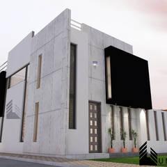 VIVIENDA MINIMA : Casas de estilo  por Umbral arquitectura y construccion,