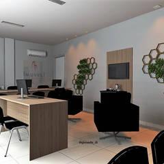 Imobiliária Imóveli em Várzea Grande: Lojas e imóveis comerciais  por Gleisielle Carvalho Designer de Interiores,