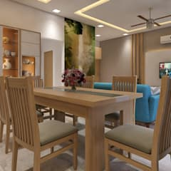 Dining room by ANP Interiors Pvt Ltd, Classic