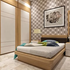 Girls Bedroom by ANP Interiors Pvt Ltd, Classic