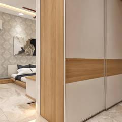 Cuartos pequeños  de estilo  por ANP Interiors Pvt Ltd,