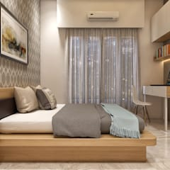 Teen bedroom by ANP Interiors Pvt Ltd, Classic