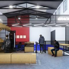 مكاتب ومحلات تنفيذ Serra arquitetos,
