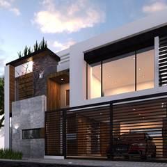 DISEÑO HABITACIONAL: Casas de estilo  por SKETCH ARQUITECTOS, Moderno