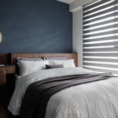 Small bedroom by 極簡室內設計 Simple Design Studio, Modern