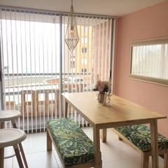 ห้องทานข้าว โดย Maana Espacios con sentido, ทรอปิคอล