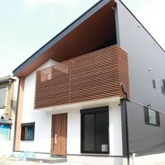 ローコスト・ハイクオリティ 北畠の新築住宅: (株)西村工務店が手掛けた一戸建て住宅です。,オリジナル