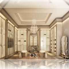Exceptional Walk-in Closet Interiors Vestidores y placares coloniales de IONS DESIGN Colonial Cobre/Bronce/Latón