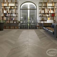 اتاق نشیمن توسطCadorin Group Srl, شمال امریکا چوب Wood effect