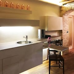 Wine cellar by Laura Marini Architetto, Rustic Bricks