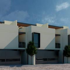 Casas en Atlixco: Casas de campo de estilo  por Antonio Ochoa, Moderno