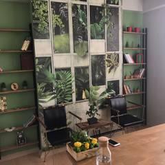 Burak Şakar İç Mimarlık – Pilates Stüdyosu Projesi:  tarz Ofis Alanları,