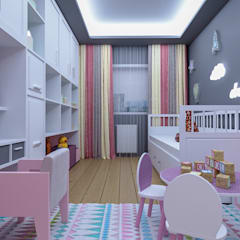 Teen bedroom by VET MİMARLIK,