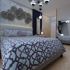 Small bedroom by VET MİMARLIK, Eclectic Engineered Wood Transparent