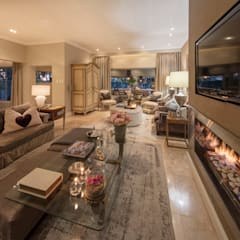 Spegash Interiors, House Parkwood, South Africa:  Living room by Sian Kitchener homify, Modern