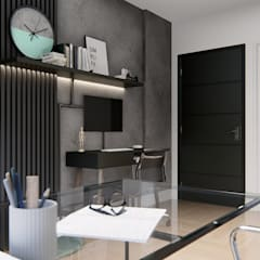 Study/office by ALEANDRI  Interiores , Industrial