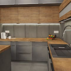 Built-in kitchens by Dekoreveli Pracownia Projektowa,