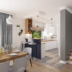 Projekt Kuchni w Domu (Nowoczesny Styl) od Senkoart Interior Design Nowoczesny
