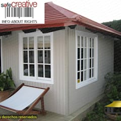 Garden Shed by PERGOLAS LUXURY , Mediterranean