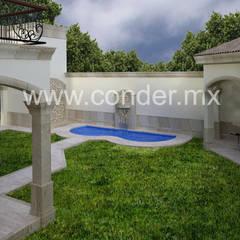 Single family home by CONDER S.A. de C.V.,