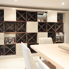 PORTFOLIO 2019:  Wine cellar by CLINT LEWIS DESIGNS, Modern