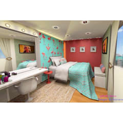 Small bedroom by Designer de Interiores - Gabriela Soares, Tropical