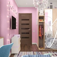 Girls Bedroom by Студия NATALYA SOLNTSEVA Interiors Design,