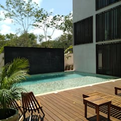 Hotels by SIEMBRA ARQUITECTURA, Tropical