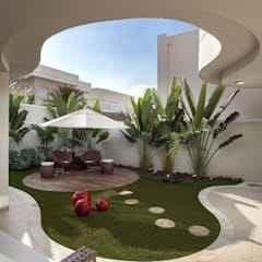 Terrace by Delight Gardening and Irrigation Service's, Mediterranean Rubber