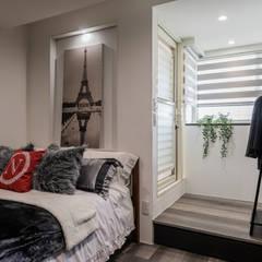 Hotels توسط你你空間設計, اکلکتیک (ادغامی) چوب Wood effect