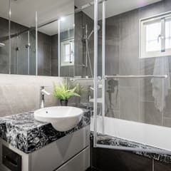 에클레틱 스타일 호텔 by 你你空間設計 에클레틱 (Eclectic) 대리석