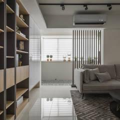 من 你你空間設計 إسكندينافي خشب Wood effect