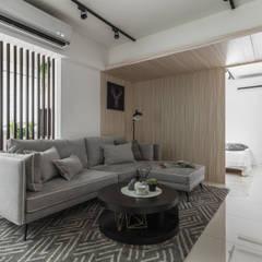 Hotels by 你你空間設計, Scandinavian لکڑی Wood effect