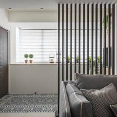 توسط 你你空間設計 اسکاندیناویایی چوب Wood effect