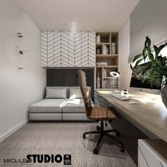 Study/office by MIKOŁAJSKAstudio , Industrial