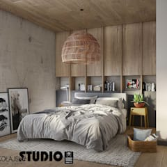 Teen bedroom by MIKOŁAJSKAstudio , Modern