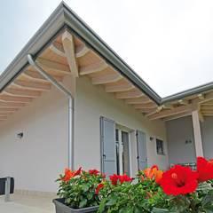 Rumah oleh Marlegno, Klasik Kayu Wood effect