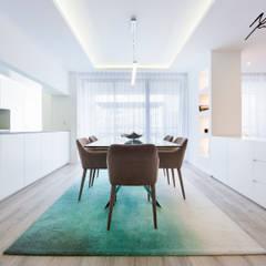 logotipo Salas de jantar minimalistas por Mariline Pereira - Interior Design Lda. Minimalista