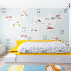 Habitaciones infantiles de estilo  por Mariline Pereira - Interior Design Lda., Minimalista