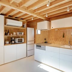 Kitchen units by .8 / TENHACHI,
