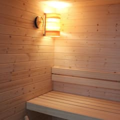 Saunas de estilo  de viemme61, Minimalista