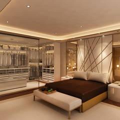 Suite Penthouse Geneva: Quartos  por Alpha Details,Clássico